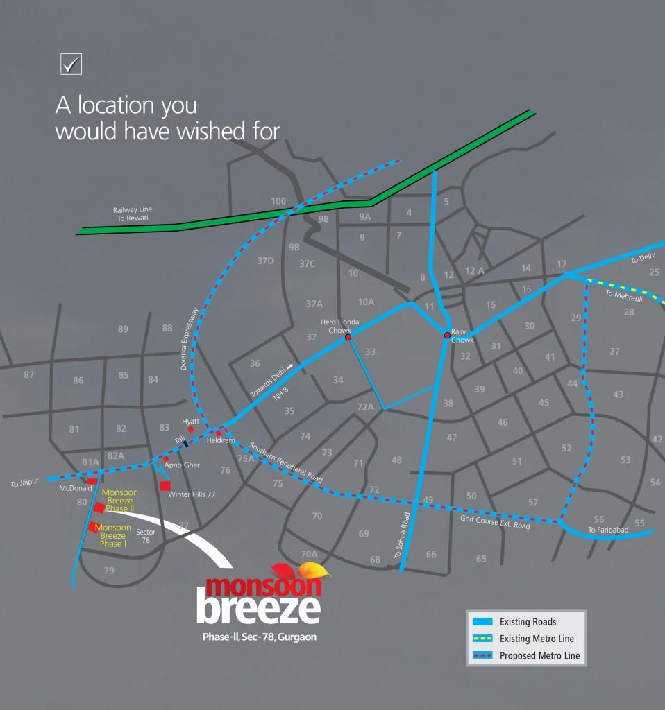 Monsoon-Breeze- Gurgaon-2-locationmap