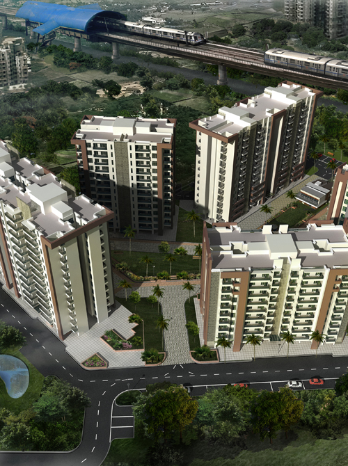 Winter Hills Apartments in Dwarka, Delhi