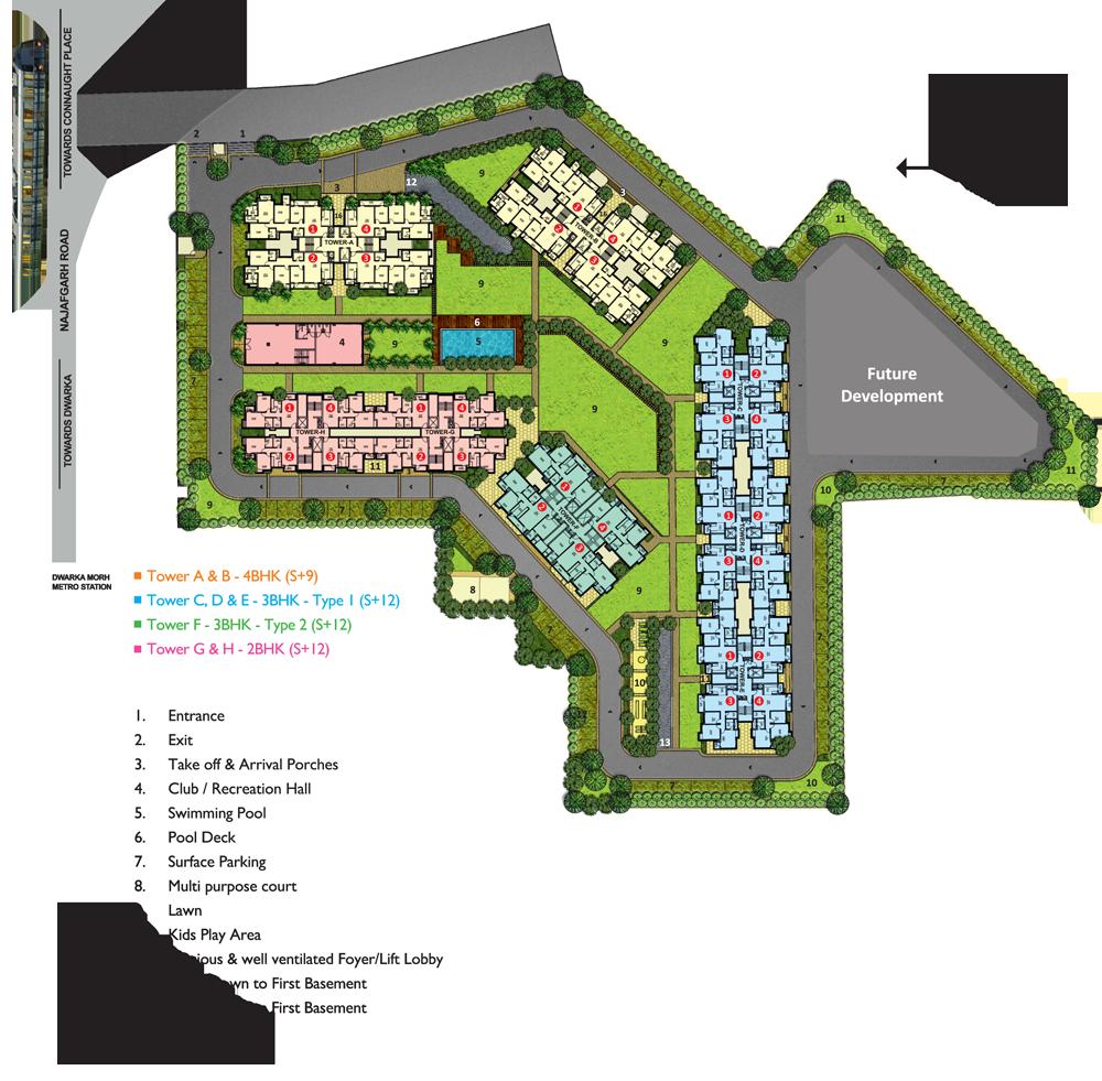 winter-hills-delhi-site-layout